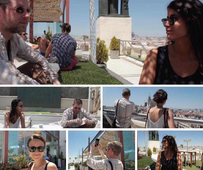 GuestToGuest, viaggio, incontro con membri, economia collaborativa, madrid