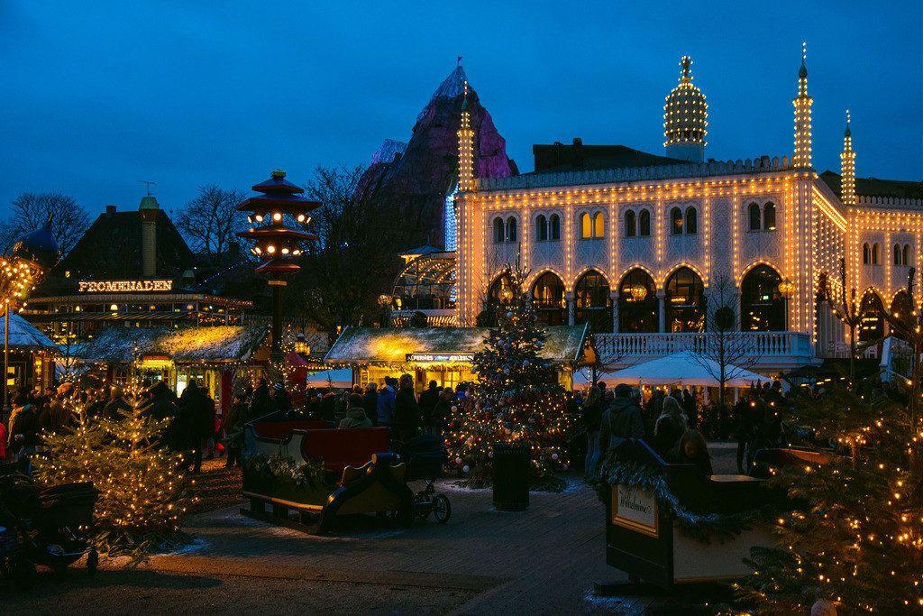Mercatini di Natale Tivoli Copenaghen