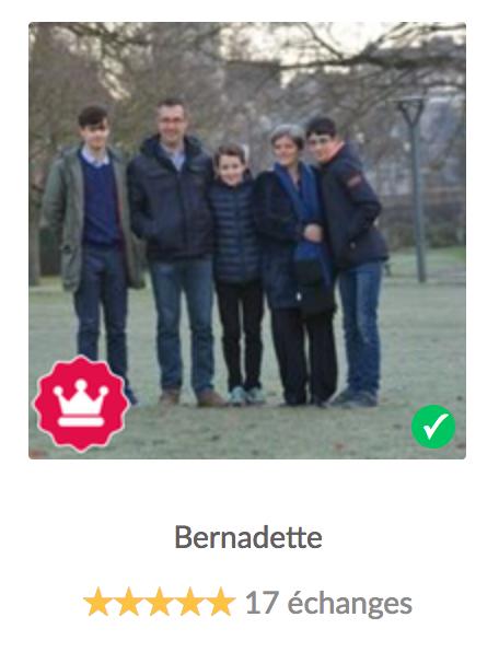 Bernadette HomeExchange