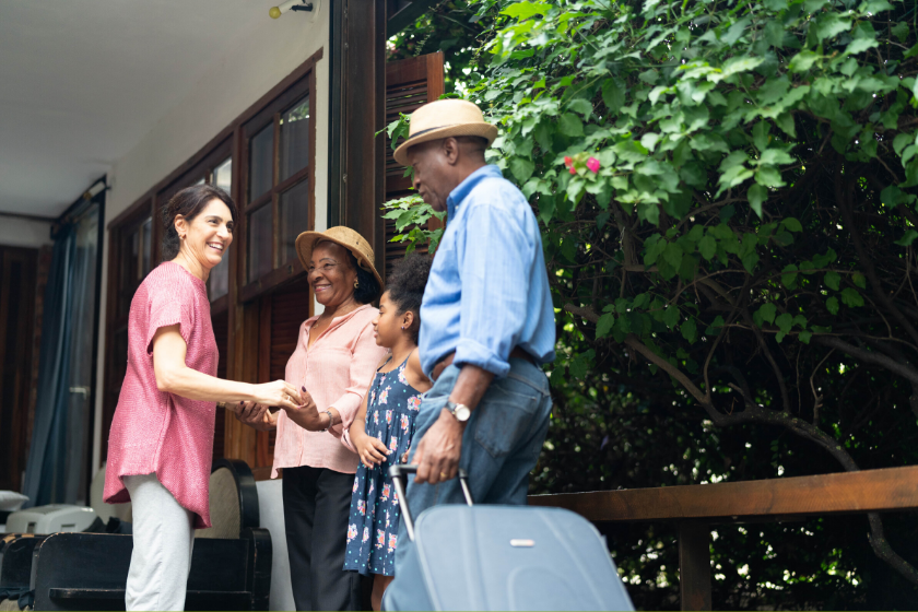 scambio casa incontri amici famiglia