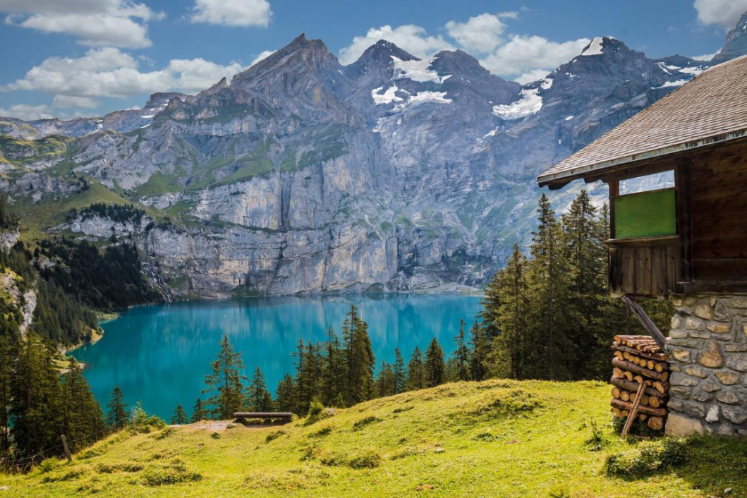 vacanze in montagna kandersteg svizzera canton berna scambio casa