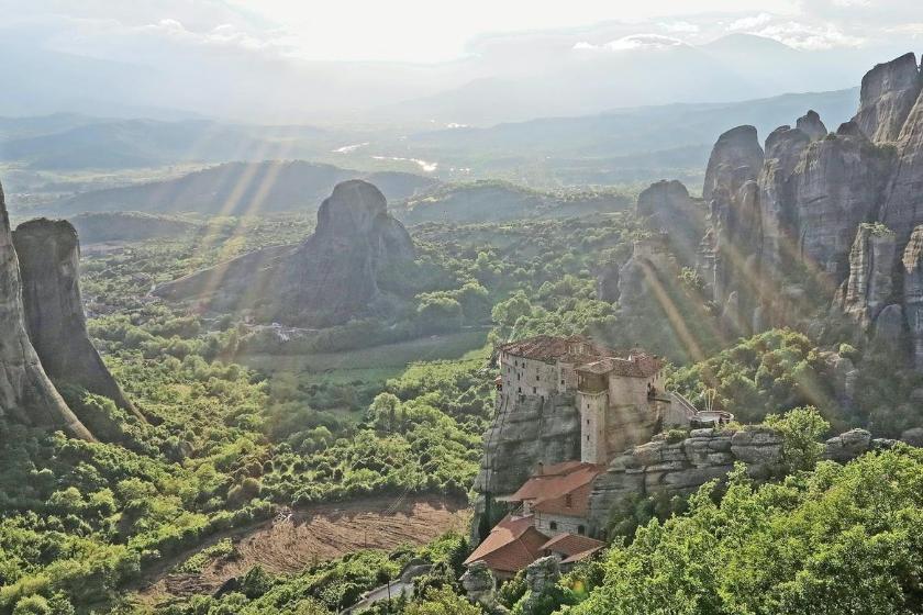vacanze in montagna grecia meteore scambio casa