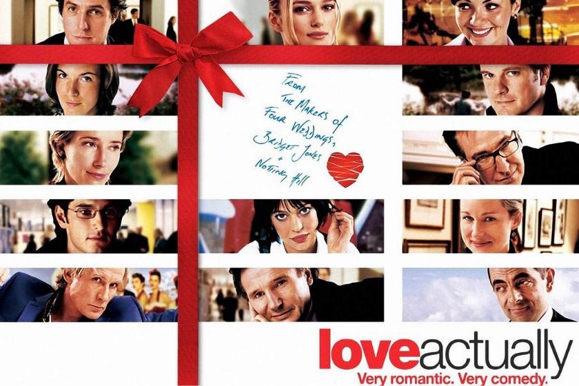 Love Actually, film di Natale, film romantico, commedia romantica, vacanze di Natale, scambio casa