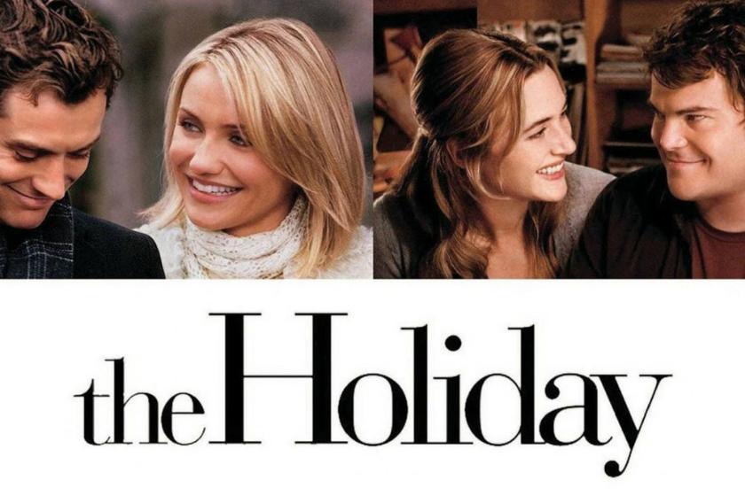 la vacanza, il film di Natale, il film romantico, la commedia romantica, le vacanze di Natale, lo scambio casa